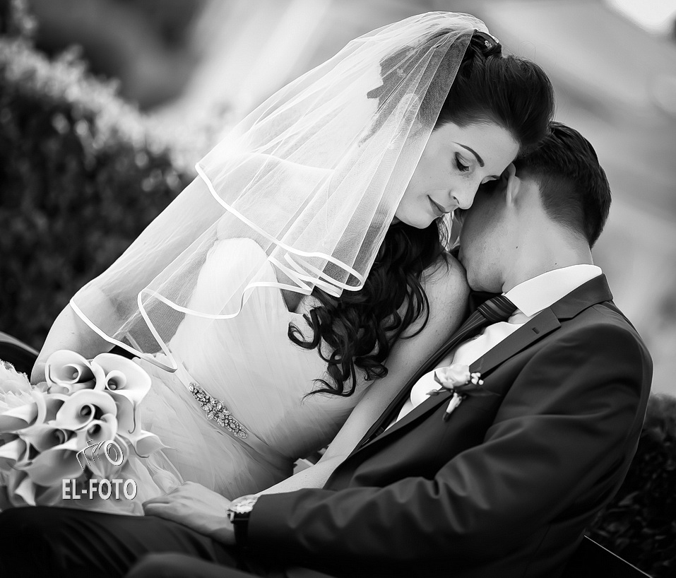 klasszikus esküvői fotó