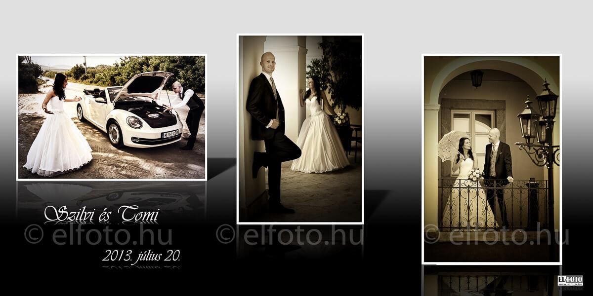 kreatív esküvői fotózás több stílus egy fotózáson